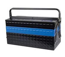 Ящик переносной для инструмента металлический синий KING TONY 87A05A-KB (Тайвань)