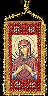 Набор-оберег для вышивки бисером Молитва о сохранении дома -  укр. вариант (5 х 10 см) Абрис Арт ABO-002-01