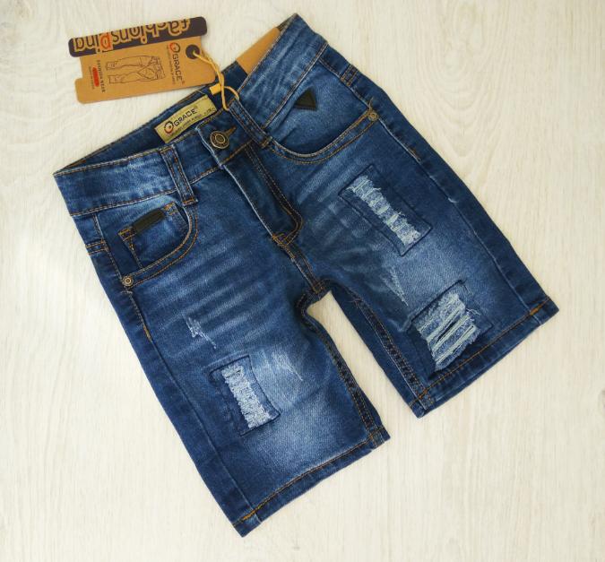 Джинсовые шорты для мальчиков , Венгрия , Grace, арт. B81019