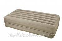 Надувная кровать Intex 66750 (2-in-1 Bed) 99х191х23см