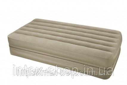 Надувная кровать Intex 66750 (2-in-1 Bed) 99х191х23см, фото 2
