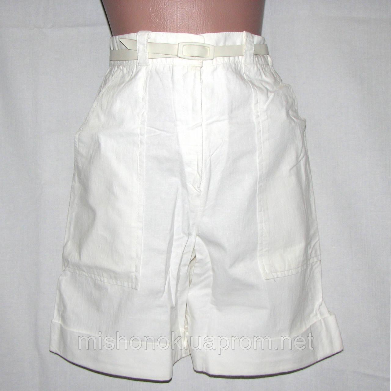 e7b72c37d372 Белые шорты-юбка, шорты-кюлоты на девочку-подростка 12-14 лет