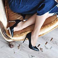Туфли лодочки черный (О-784), фото 1