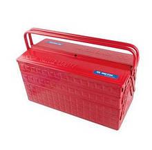 Ящик переносной для инструмента металлический красный KING TONY 87A05A (Тайвань)