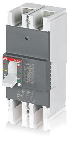 Автоматический выключатель ABB Formula A2N 250 TMF 200-2000 2p F F, 1SDA066545R1