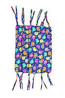 Защитные бортики для детской кроватки GorforKid Индия LC – ½ (высота 30 см, длина 180 см) (1330-204-922-2)
