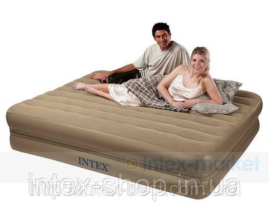 Надувная кровать Intex 66754 (2-in-1 Bed) 152х203х23см, фото 2
