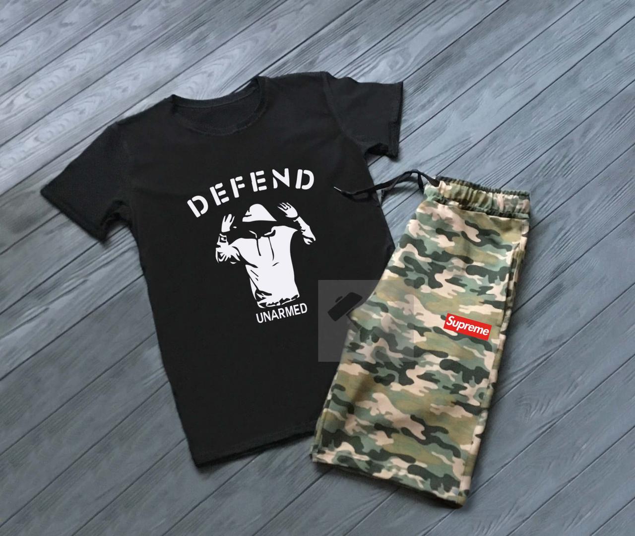 Летний спортивный костюм Supreme Defend Unarmed
