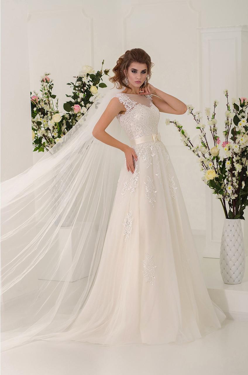 свадебное платье под заказ Киев в большом размере, пышная дама, большой бюст