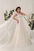Нежное   свадебное платье А-силуэта LV12297