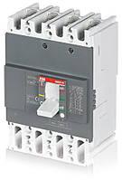 Автоматический выключатель ABB Formula A2B 250 TMF 160-1600 4p F F, 1SDA066555R1
