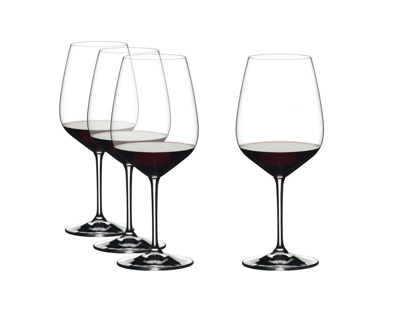Набір келихів для червоного вина Cabernet Sauvignon Riedel Vinum Extreme 800 мл 4 шт 4411/0
