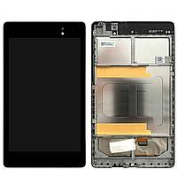 ✅Дисплей (экран) Asus ME571K Google Nexus 7 (2 поколение 2013) с сенсором (тачскрином) и рамкой черный