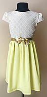 Летний сарафан-платье на девочку 7-12 лет