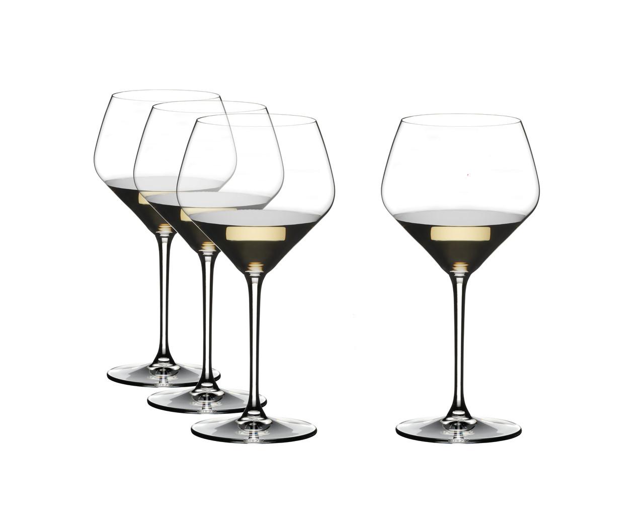 Набор хрустальных бокалов для белого вина Oaked Chardonnay Riedel Vinum Extreme  670 мл 4 шт 4411/97