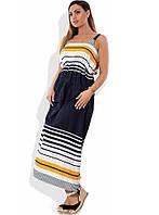 b3e750b69bd Платье-сарафан макси на лето размеры от XL ПБ-337