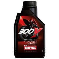 Моторное масло Motul 300V 4T FL Road Racing 10W-40 1L