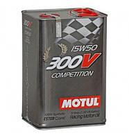 Моторное масло Motul 300V competition 15W50 5L