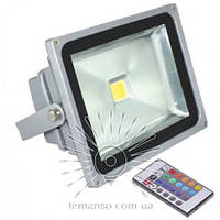 Прожектор LED 30w RGB цветной+пульт IP65 1LED LEMANSO / LMP31-RGB