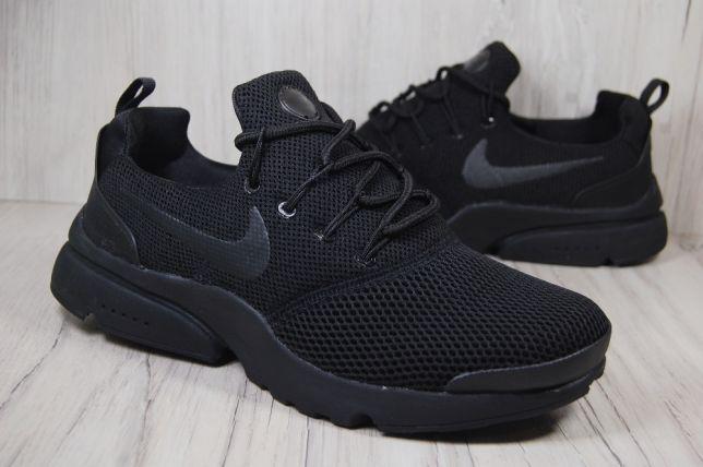 Мужские кроссовки Nike,Найк,черные,сетка,весна-лето