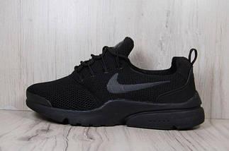 Мужские кроссовки Nike,Найк,черные,сетка,весна-лето, фото 2