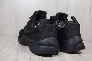 Мужские кроссовки Nike,Найк,черные,сетка,весна-лето, фото 3