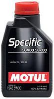 Моторное масло Motul Specific 504 00 - 507 00 5W-30 1L