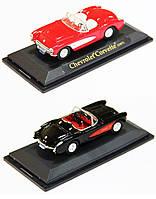 Модель машины chevrolet corvette 1957