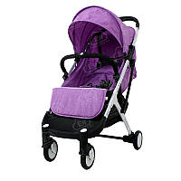 YOYA PLUS Purple Прогулочная детская коляска-трансформер 2 в 1 алюминиевая