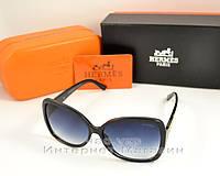 Женские солнцезащитные очки Hermes качественная копия градиентная линза Гермес мода 2018 года
