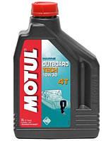 Моторное масло для бензиновой водной техники Motul Outboard tech 4t 10W-30 2L