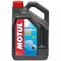 Моторное масло для дизельной водной техники Motul Inboard tech 4t 10w-40 5L