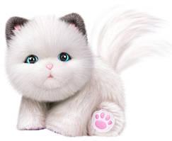 Little Live Pets Интерактивный котенок Cuddles My Dream Kitten