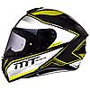 Мотошлем MT Targo Interact Gloss Pearl Fluor Yellow