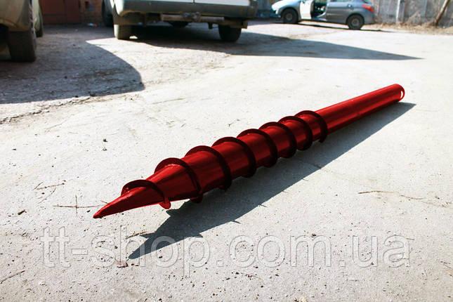 Свая многовитковая Ø 76 мм длинна 3,0 м, фото 2