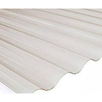 ПВХ лист SALUX 1,8 м х 0,9 м х0,8 мм прозрачная волна