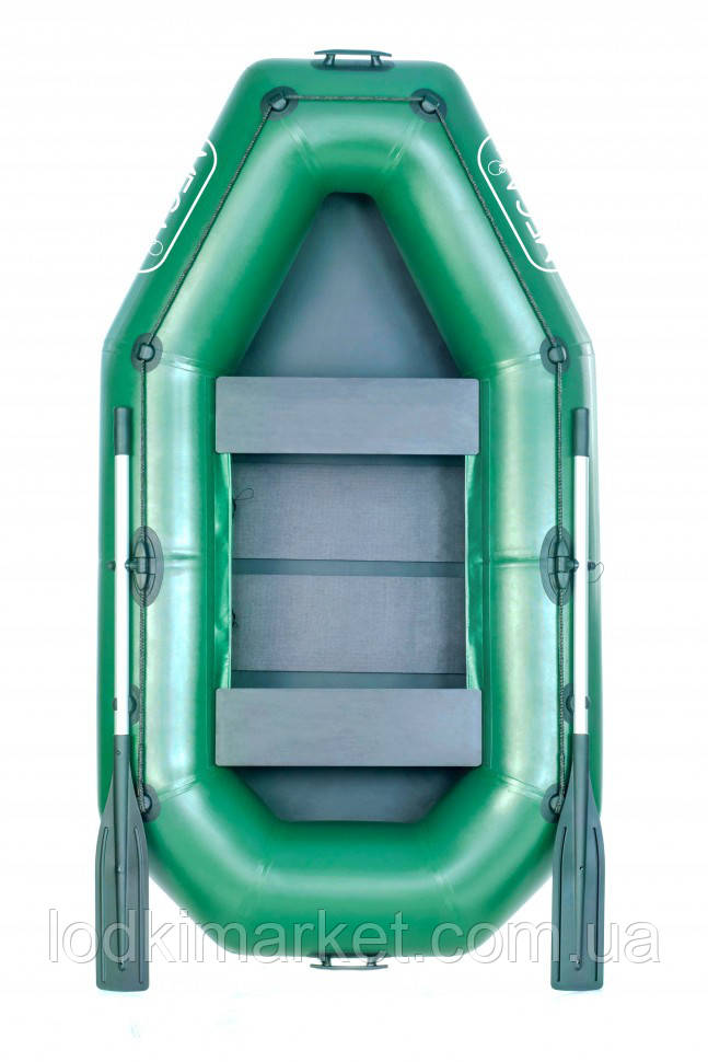 Лодка гребная полуторная MEGA M220 32 см
