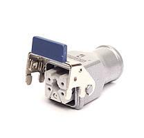 Корпус EBM05PU36 с розеткой переносной с металлическим фиксатором  5 вывод. Эмас