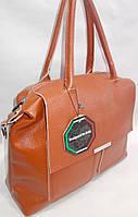 Женская кожаная сумка Galanty 10533 Brown Кожаные женские сумки купить Одесса 7 км