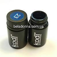 Гель Краска Коди Профессиональный синяя N23, 4мл