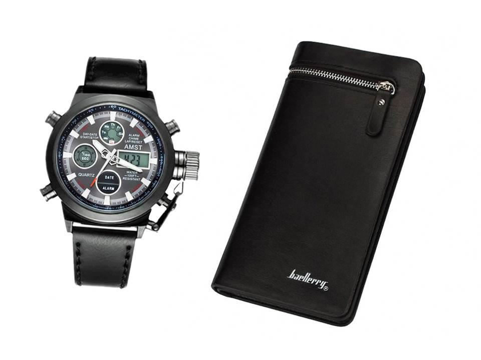 4cb0c6611a2c Наручные часы AMST+ Портмоне в подарок