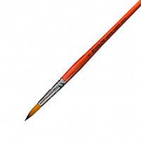 Кисть синтетика круглая №8 Carrot 1097R 4210970r08