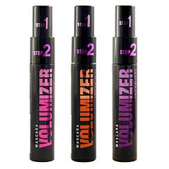 Туш для вій чорного кольору 2 в 1 Volumizer 2 in 1 HengFand