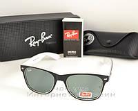 Солнцезащитные очки Ray Ban Wayfarer RB 2140 Стекло унисекс рей бен мужские  и женские реплика 990d5ddb1e0