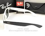 Солнцезащитные очки Ray Ban Wayfarer RB 2140 Стекло унисекс рей бен мужские и женские реплика, фото 4