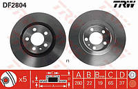 Тормозные диски SEAT Leon передние 280мм   TRW DF2804