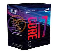 Процессор Intel Core i7 (LGA1151) i7-8700K, Box, 6x3,7 GHz (Turbo Boost 4,7 GHz), UHD Graphic 630 (1200 MHz), L3 12Mb, Coffee Lake, 14 nm, TDP 95W