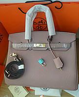 Люкс-реплика Эрмес биркин пудра, 35 см, стандарт, фото 1