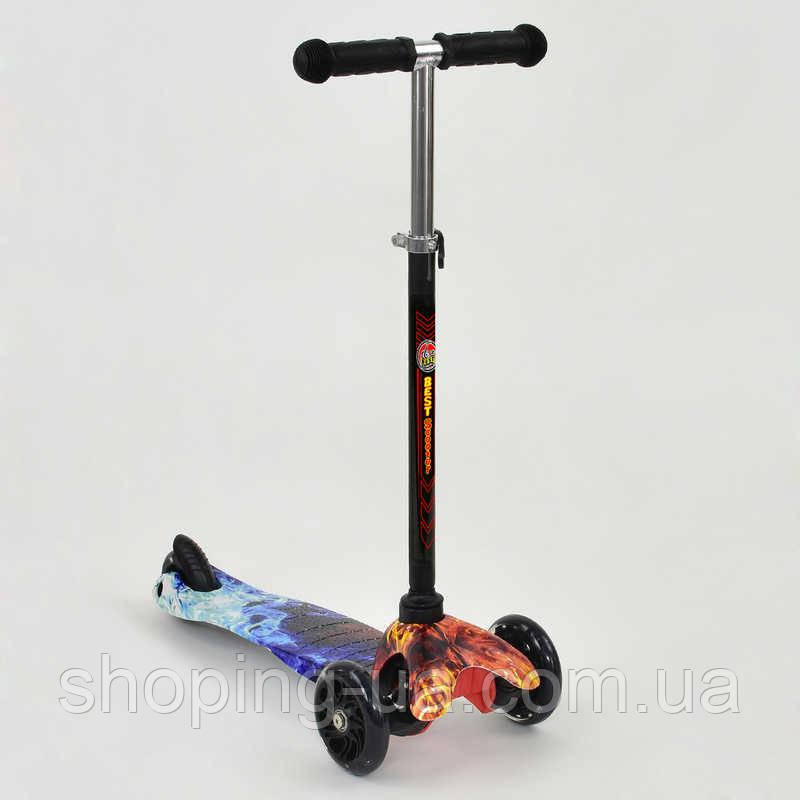 Трехколесный cамокат Mini Best Scooter 24697