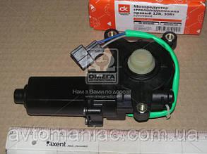 Моторедуктор стеклоподъемника DAEWOO LANOS правый.  (шестерня) 12В, 30Вт